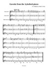 Gavotte from the Aylesford pieces for clarinet trio