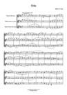 Trio pour clarinettes